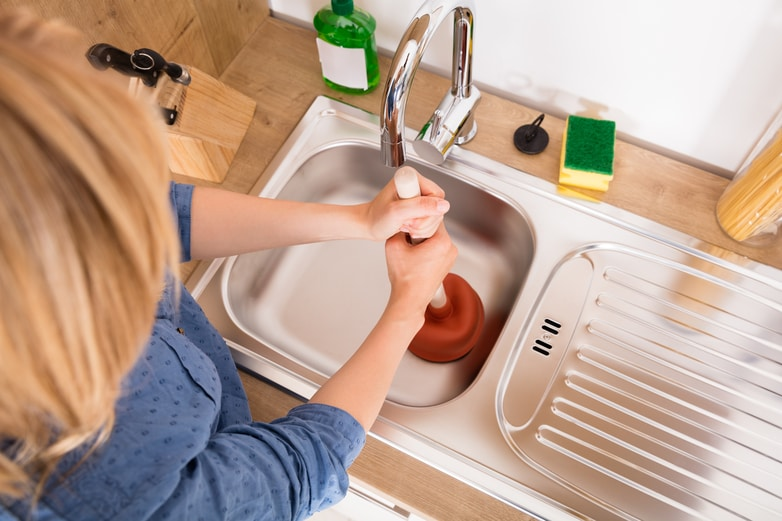 Image result for plunging your sink