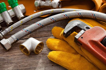 plumbing tools and repair parts